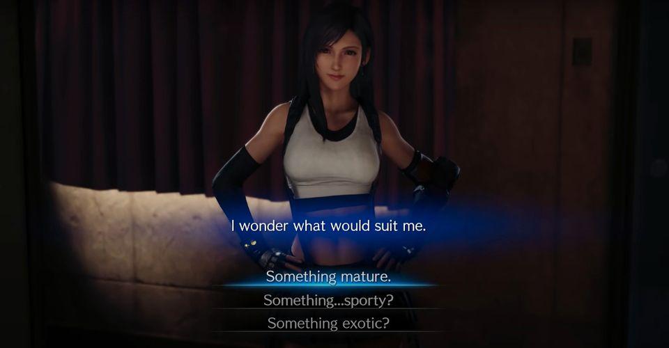 Pakaian Tifa Yang Dipilih Dalam Final Fantasy 7 Remake