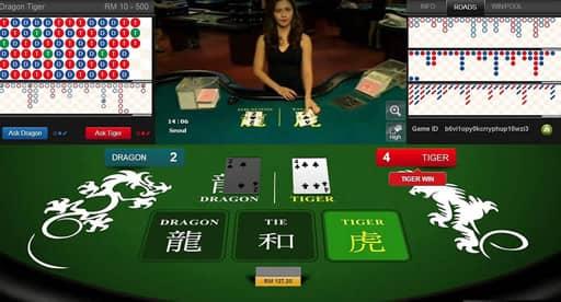カジノならではの緊張感を味わえるライブゲーム