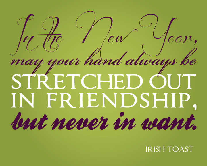 irish new year quotes