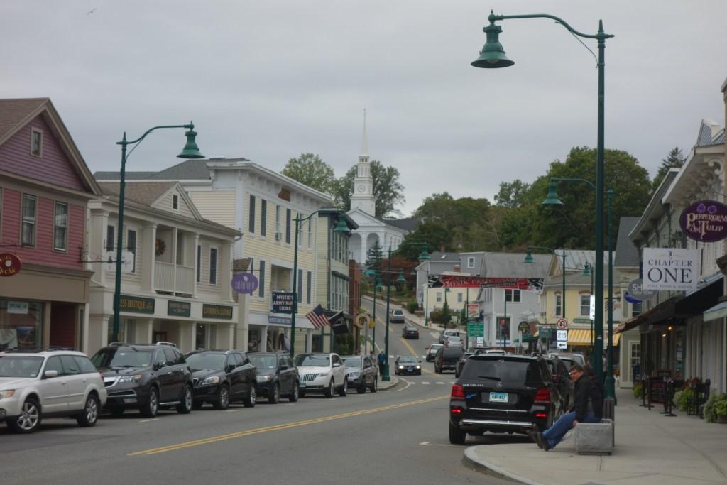 downtown Mystic Connecticut