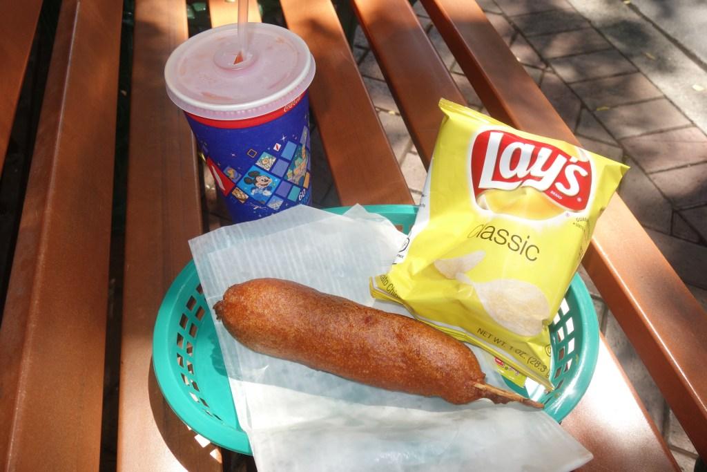 corn dog Disneyland