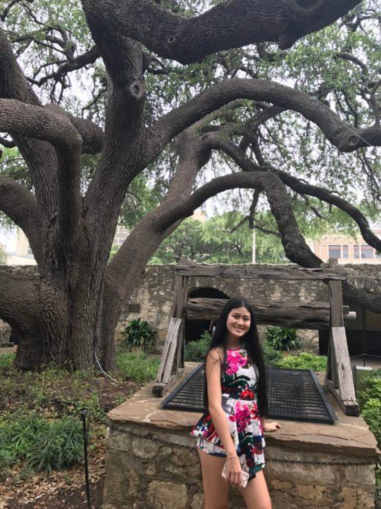 Alamo wishing well and Baby Bug