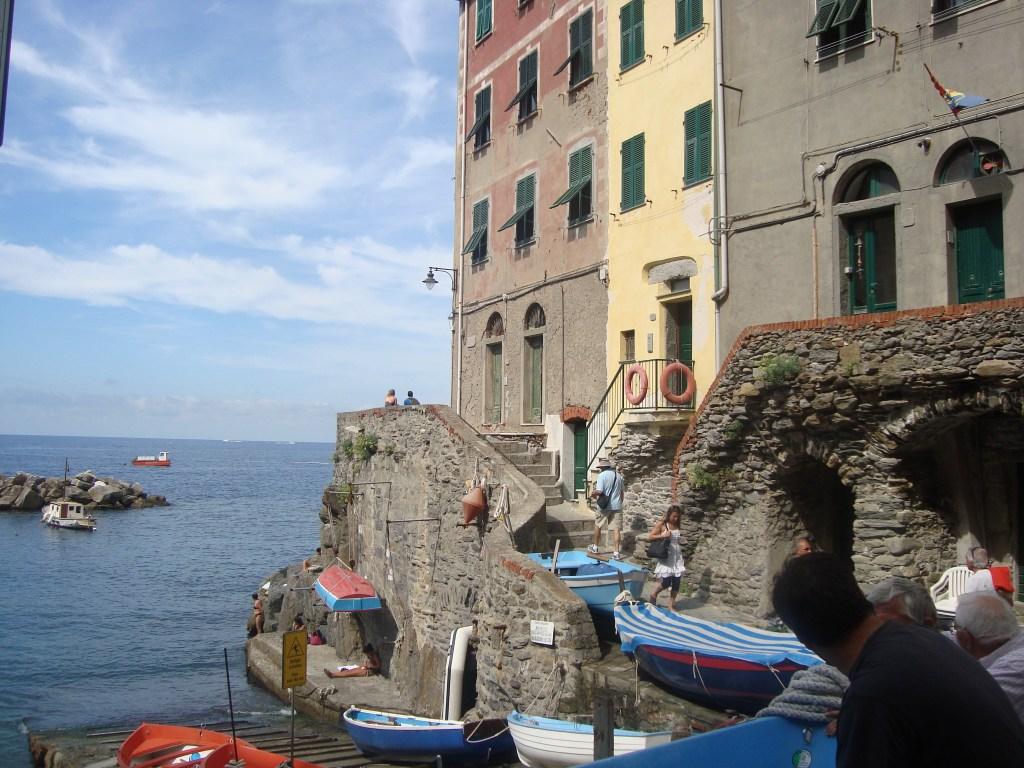beach at Cinque Terre Italy