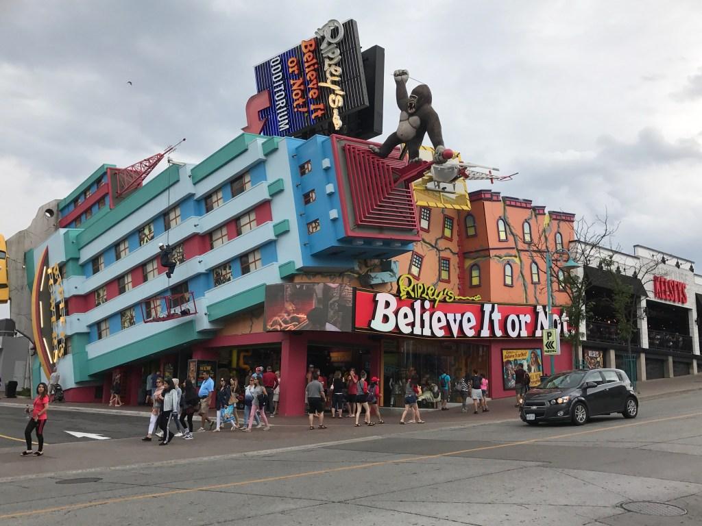 Ripley's Believe it or Not, Clifton Hill Niagara Falls