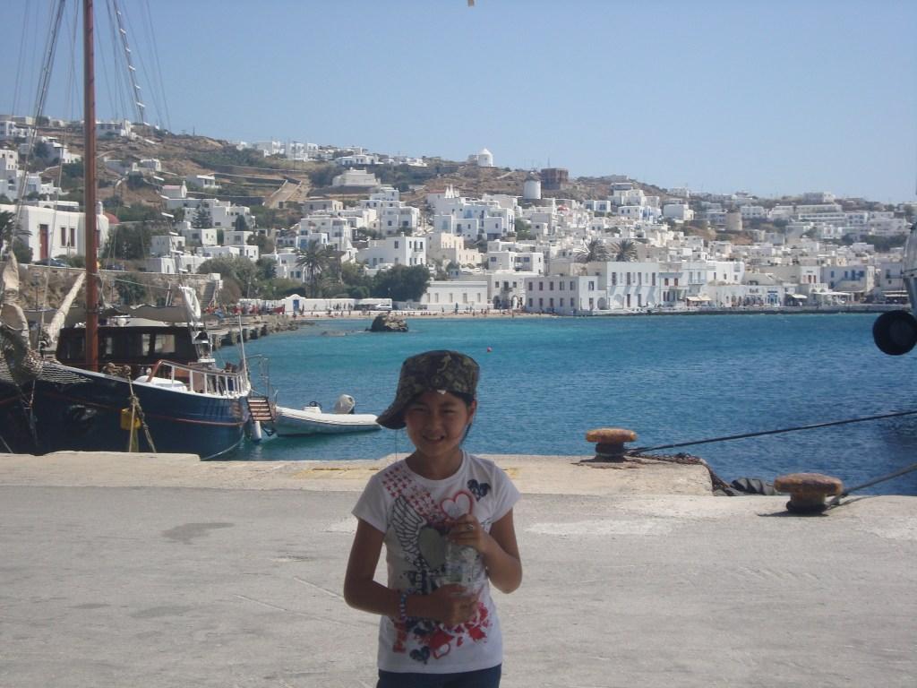 waterfront Mykonos Greece