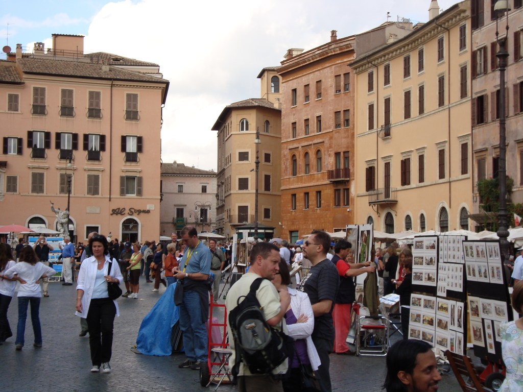 Piazza Navona Rome, Italy