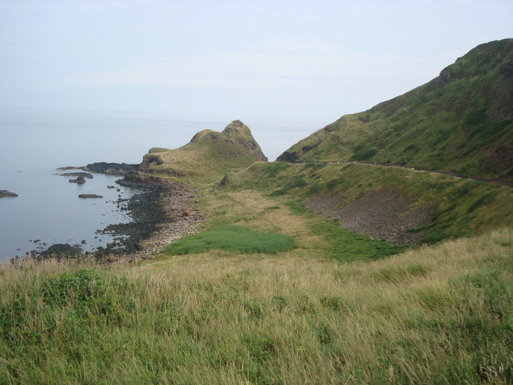 a walk down the path to Giant's Causeway