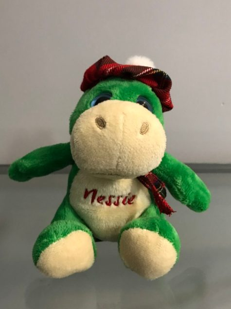 "Stuffed ""Nessie"" souvenir"