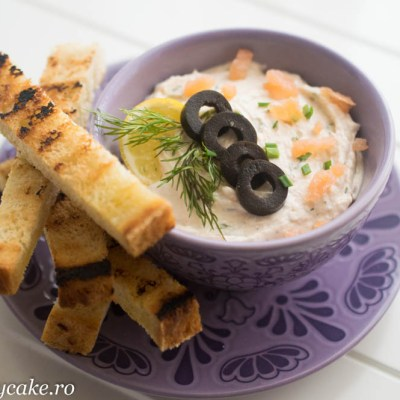 pasta tartinabila de somon