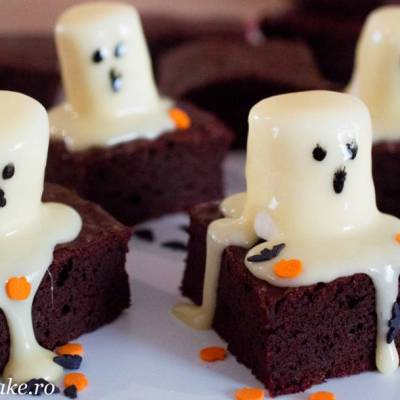 Halloween brownie