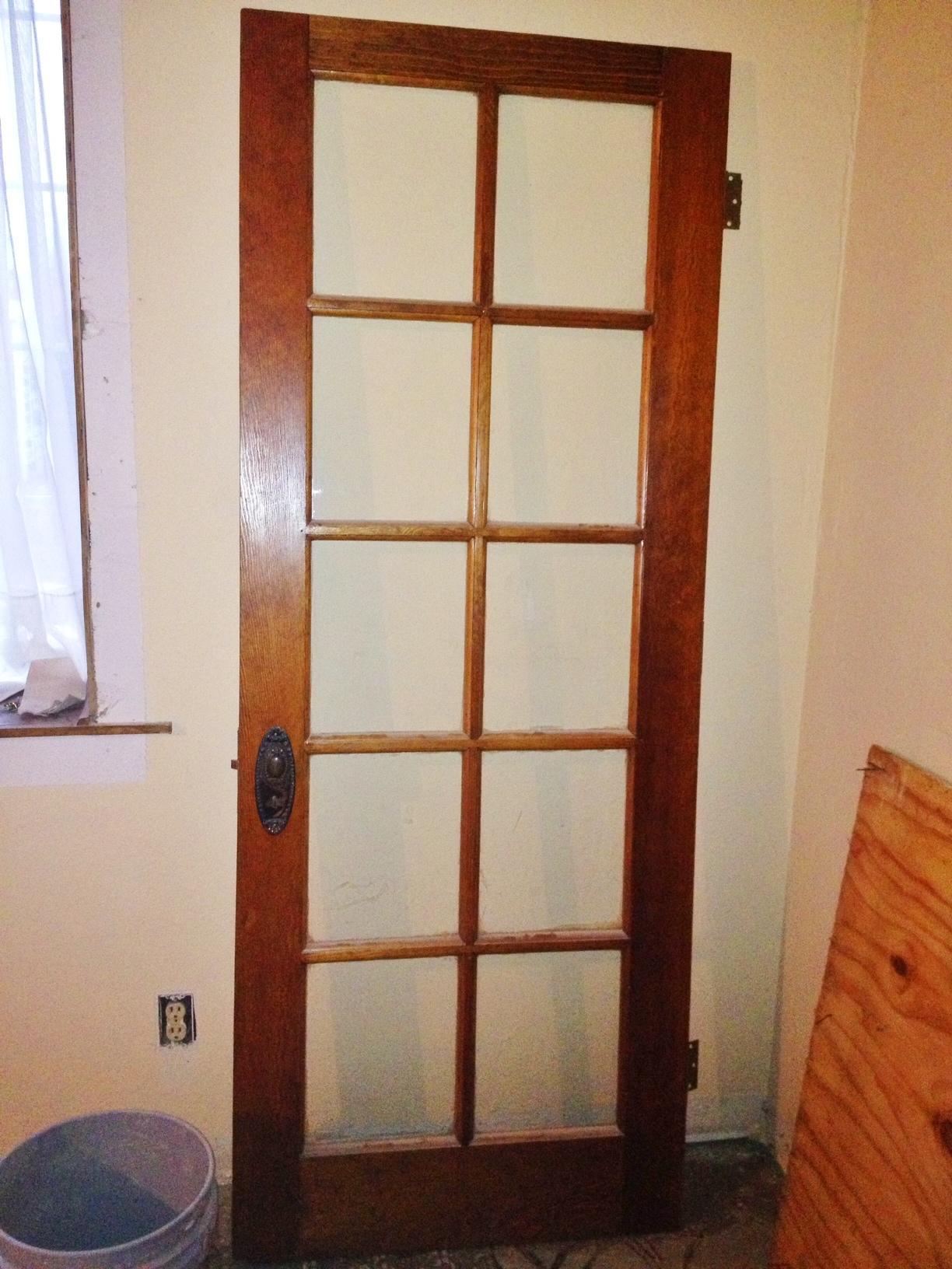 Vintage Door Vs Open Floor Plan Lucky Girl Brake
