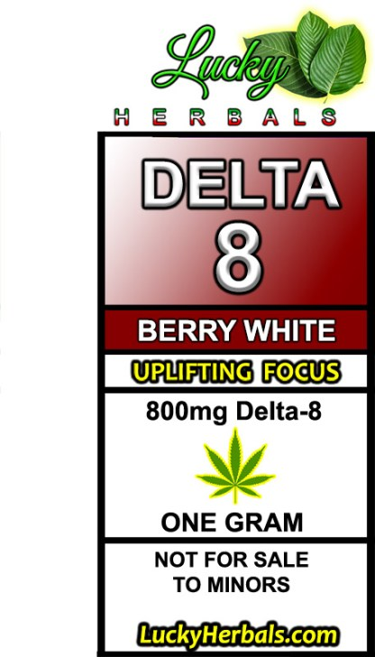 DELTA-8 BERRY WHITE
