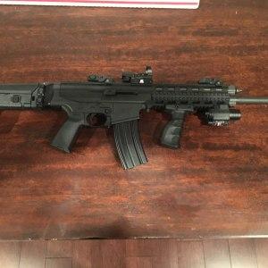 Sig Sauer 553/556 Swiss Rifle