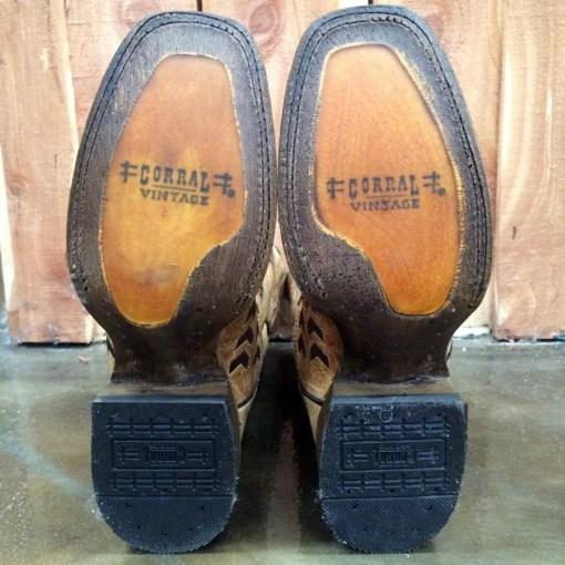 Corral Antique Saddle Boot A3122