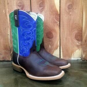 Kid's Anderson Bean Blue & Green Sinsation Boot K7904