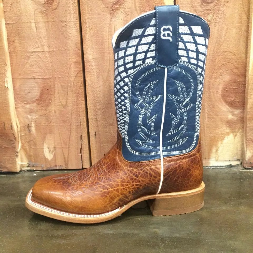 Kid S Anderson Bean Blue Volcano Bullfrog Square Toe Boot