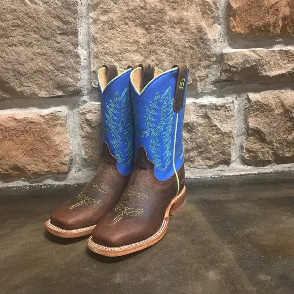 Anderson Bean Kids Bison Square Toe Boot K7906