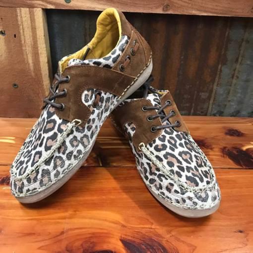 Women's Cinch Leopard Casual Mocs CCW3016