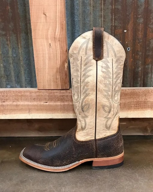Anderson Bean Womens Ivory Boar Mad Dog Boot