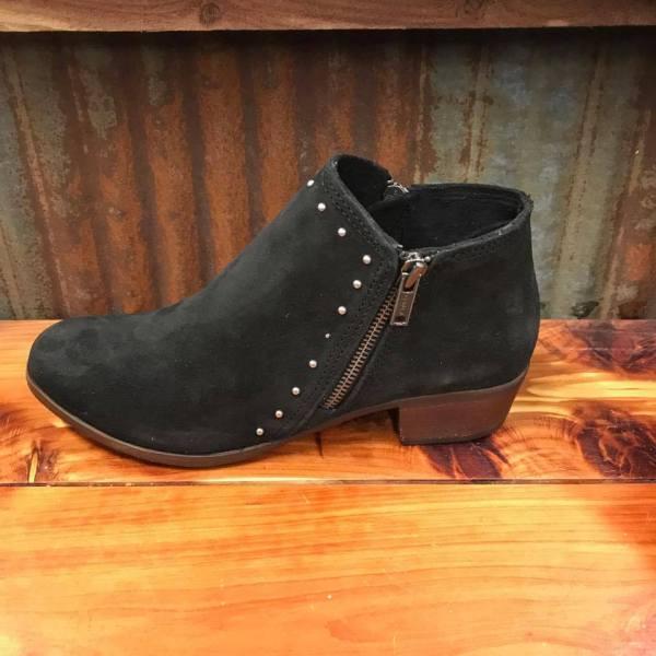 Ladies Minnetonka Black Brie Boot 1519