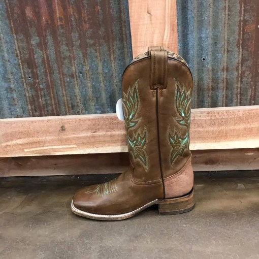Brown Corral Extra Comfort Square Toe Boot A3434