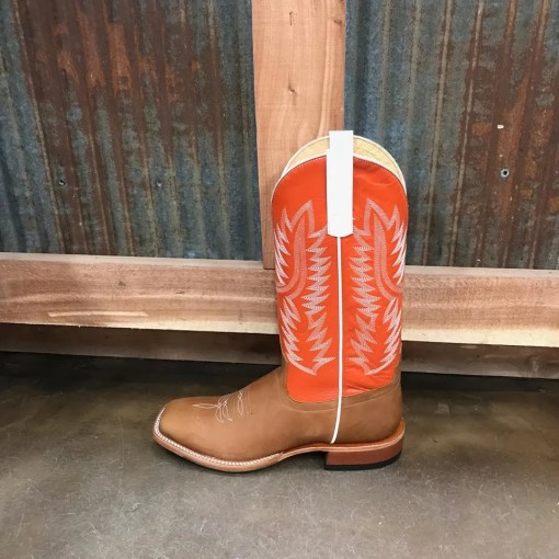 Men's Horse Power Honey Crazy Horse Square Toe Boot