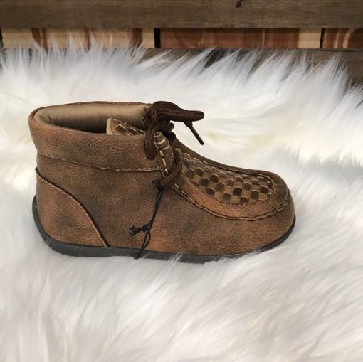 DBL Barrel Boys Weaved Shoe-Carson 4410902