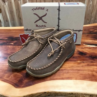 Twisted X Mens Saddle Driving Mocs MDM0065