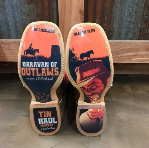 Tin Haul Men Sunset Rider With Outlaw Sole 0341 BR