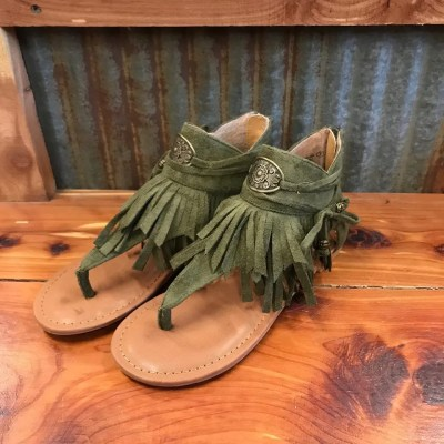 NOT RATED KHAKI CHIA SANDAL NRSA0340
