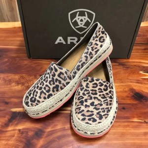 Women's Ariat Espadrille Cheetah Cruiser 10023046