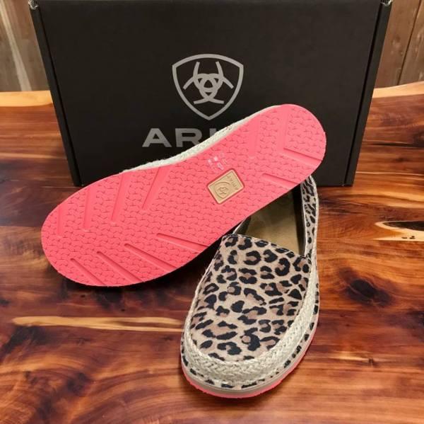 Women's Ariat Espadrille Cheetah Cruiser 10023046