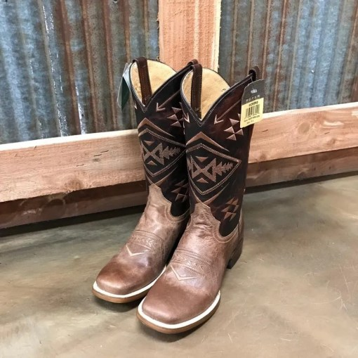 Women's Roper Ruby Square Toe Boot 0230 BR