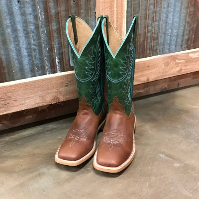 Horse Power Men's Emerald Explosion Square Toe Boots HP1826