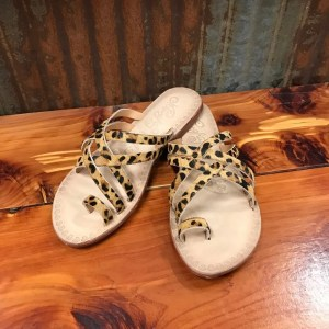 Ladies Naughty Monkey Zooche Leopard Slide Sandals NMSA0272