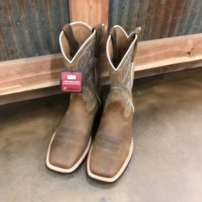 Men's Ariat Quickdraw Square Toe Boots 10002224
