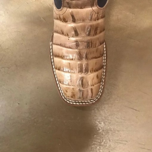 Kid's Anderson Bean Natural Caiman Tail Print Boot K7080