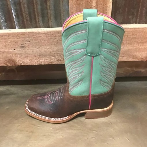 Kid's Anderson Bean Toast Bison Square Toe Boot ABK7089