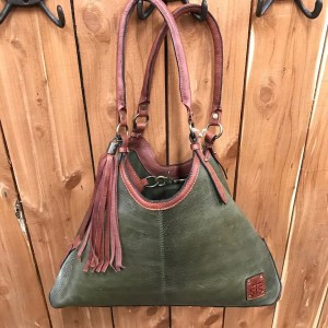 STS Classic Olive Hobo Bag STS31589