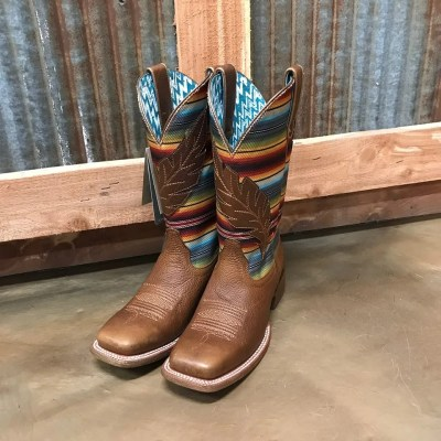 Women's Ariat Circuit Feather Square Toe Boot 10025050
