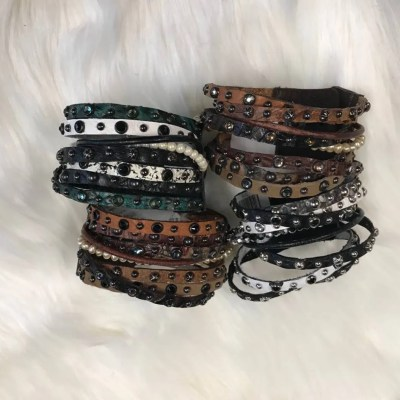 Rowdy Cowgirl Twisted Gunslinger Cuff