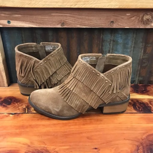 Ladies Naughty Monkey Kepang Camel Booties NMLB0242