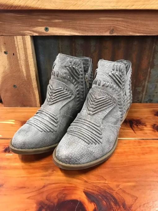 Ladies Not Rated Nosara Grey Bootie
