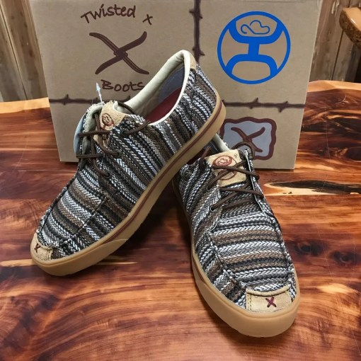 Twisted X Mens Multi Brown Hooey Lopers MHYC014