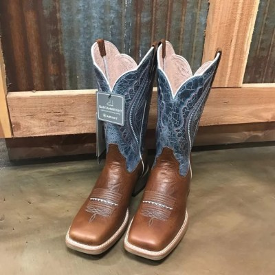 Women's Ariat Baby Blue Eyes Square Toe Boots 10025032