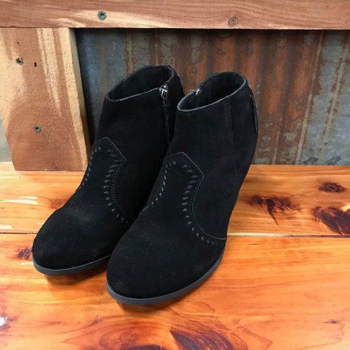 Ladies Minnetonka Melissa Bootie in Black