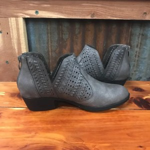 Ladies Boutique Redbud Bootie in Pewter