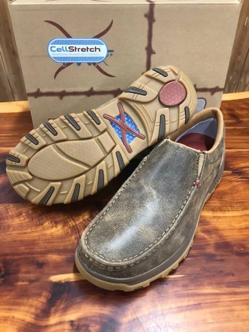 Men's Twisted X CellStretch Casual Slip On Bomber Show MXC0003