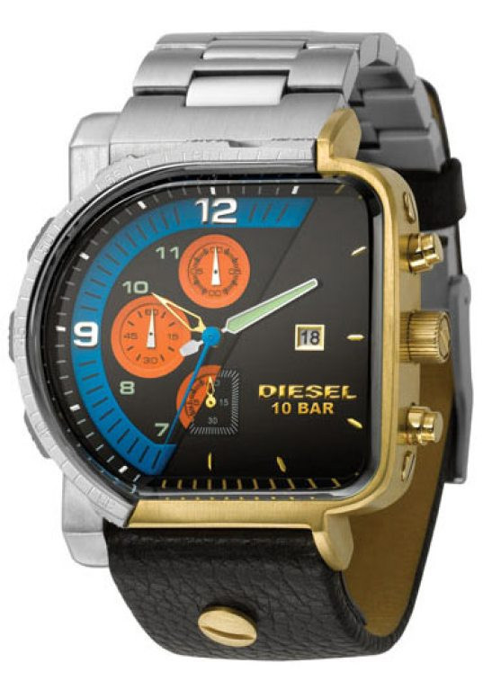 looks like two different watches stuck together. but is it the worst watch ever?
