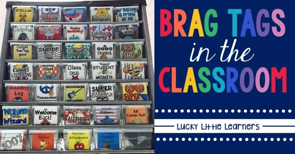 BRAG TAGS Lucky Little Learners